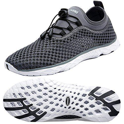 Zhuanglin Women's Quick Drying Aqua Water Shoes. #WaterShoes