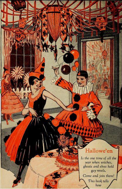 My Pretty Baby Cried She Was a Bird: Dennison's Bogie Book (Vintage Halloween Decorations, 1920):