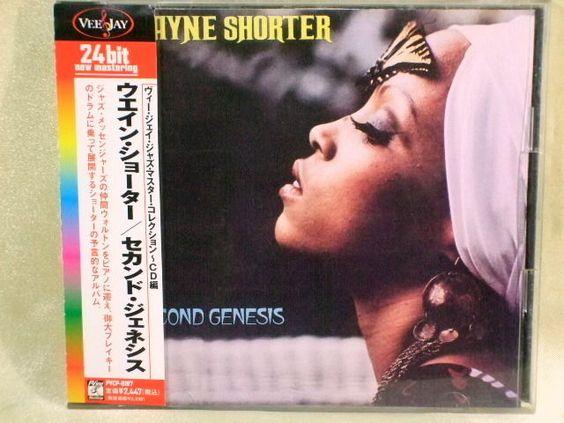 CD/Japan- WAYNE SHORTER Second Genesis w/OBI RARE 24bit remaster PVCP-8187 #BebopHardBop