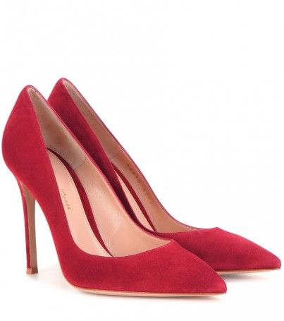 Pumps Gianvito 105 Aus Veloursleder