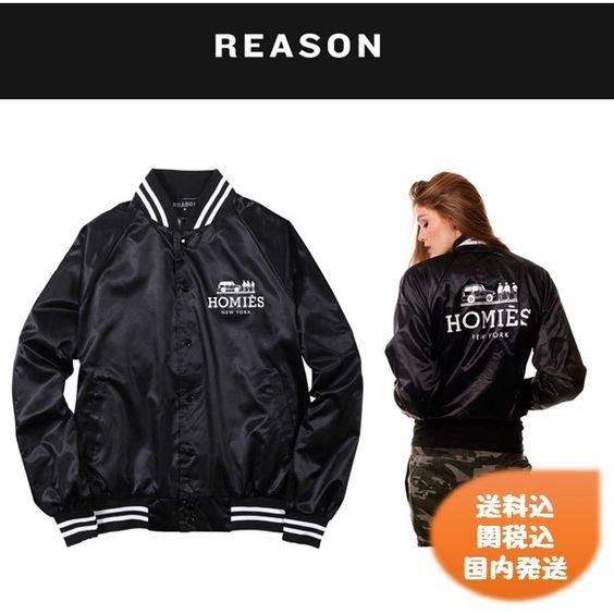 BUYMA.com REASON(リーズン) homiesサテンスタジャン(14865976)