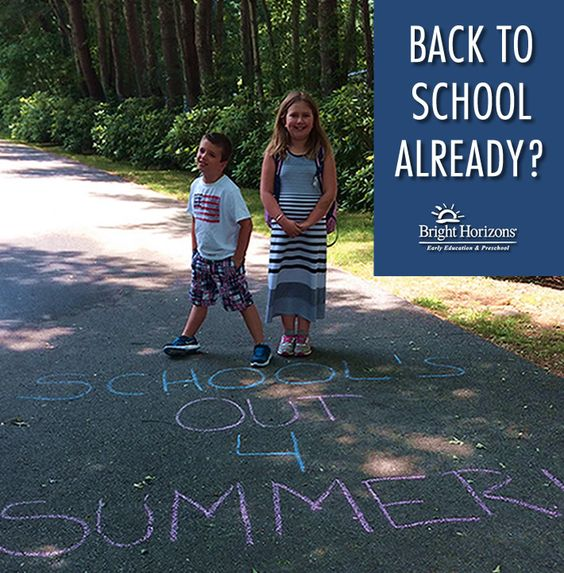 Back To School Already?
