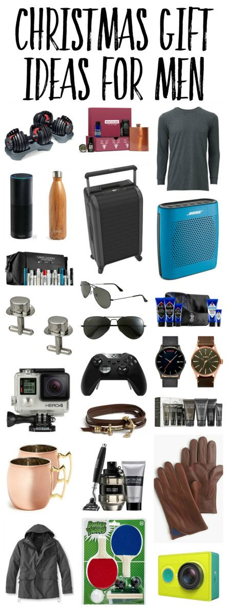Best Christmas Gifts for Men (Husband) 2016 - 32 Top Holiday Gift ...