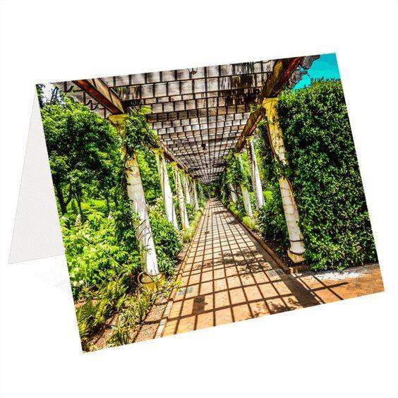 Botanical Walk (5x7 Greeting Card)