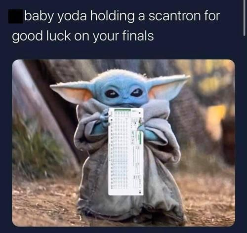 Finals Week Ethicalmemes 32 Memes Pictures That Will Make People With Siblings Laugh Harder Than They Should Yoda Meme Yoda Funny Yoda