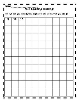 Number Names Worksheets skip counting activity : Activities, Skip counting activities and Skip counting on Pinterest