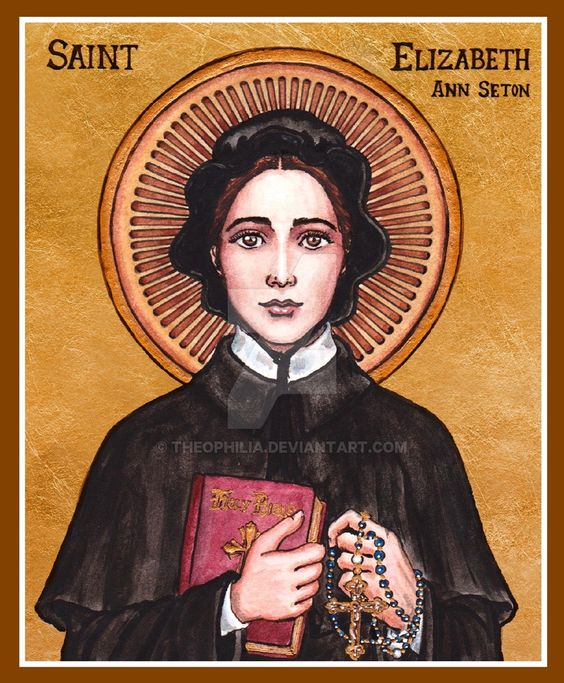 saint elizabeth ann bayley seton compassion January 4th is the feast day of another great saint, elizabeth ann seton saint elizabeth was born elizabeth ann bayley in new york city on august 28, 1774 2.