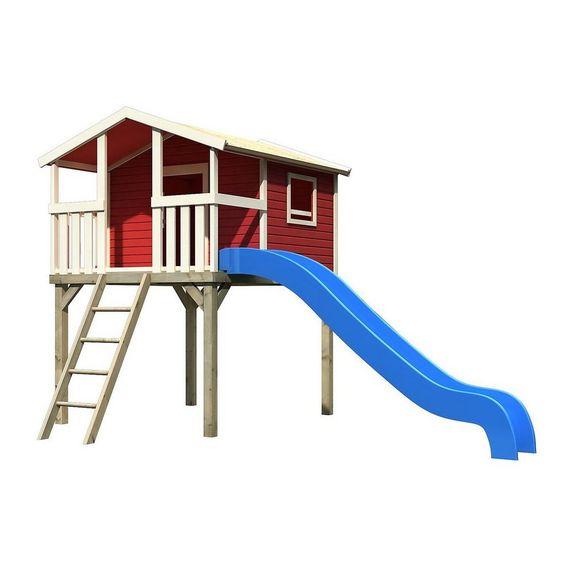 Karibu Stelzenhaus Hochburg im Set kastanienrot für 1.093,90€. Altersempfehlung: ab 3 Jahren. bei OTTO