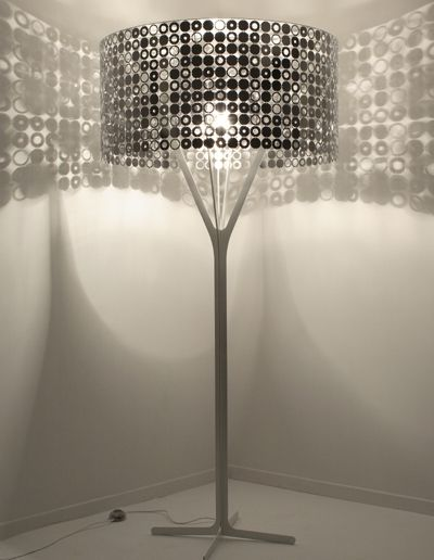 Disco dancing lamp shade. :)