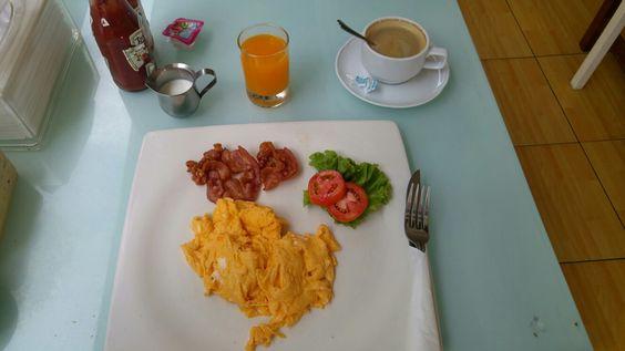 Frühstück für umgerechnet 2,40 Euro