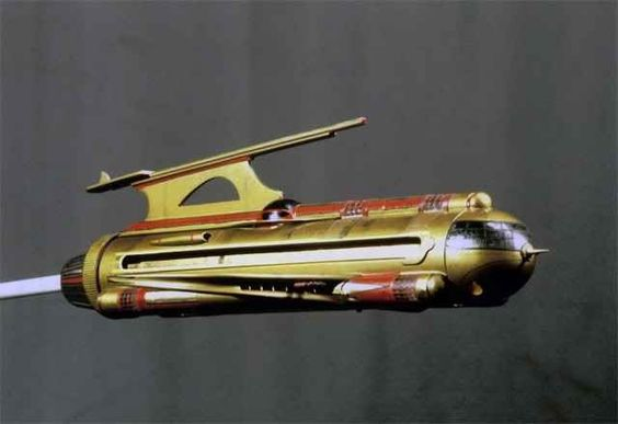 Flash Gordon's Spaceship. I thought everyone would have one by now.