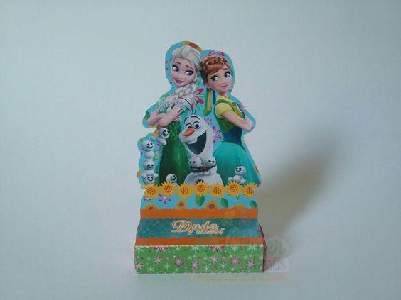 Porta bis duplo Frozen Fever by Oliver Festas Infantis ☺