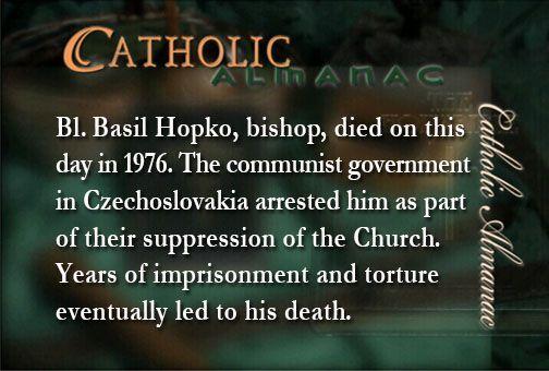 #BlessedBasilHopko #prayforus