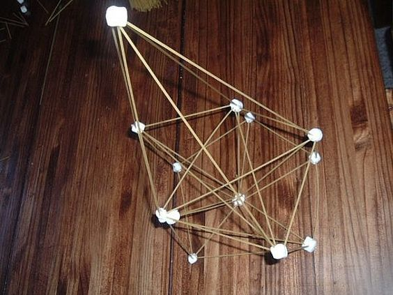 how to build a spaghetti marshmallow tower marshmallows spaghetti and towers. Black Bedroom Furniture Sets. Home Design Ideas