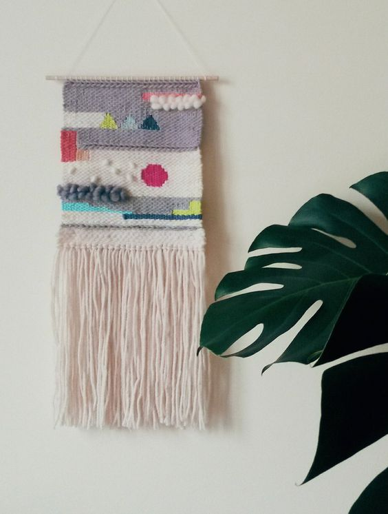 Hand Woven Wall Hanging, Woven Tapestry, Weaving wall hanging by undertheoaktreeshop on Etsy https://www.etsy.com/listing/218860204/hand-woven-wall-hanging-woven-tapestry