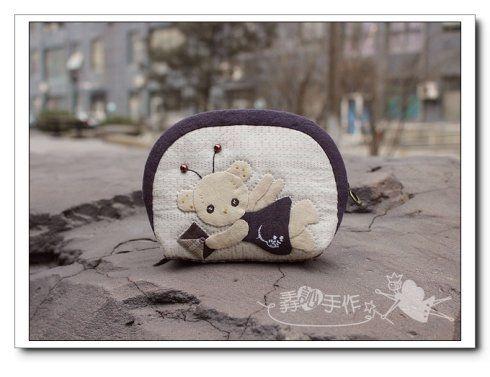 天空团作---可爱熊零钱包