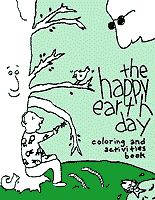 happy earth day coloringactivity book freeee  Repinned by