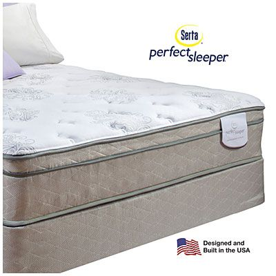 Serta Perfect Sleeper Davis Eurotop Premium Quality Full Mattress Serta® Perfect Sleeper® Davis Eurotop Premium Quality Full Mattress ...