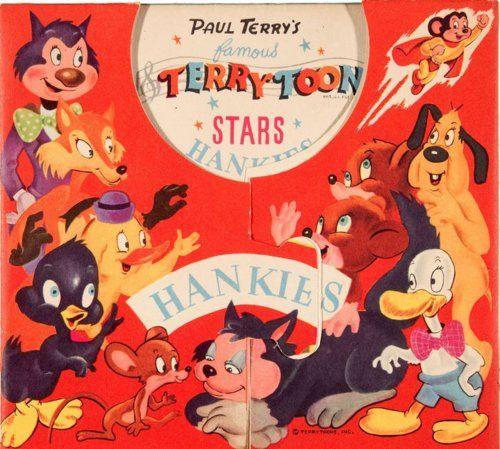 Terry-Toons Stars Hankies