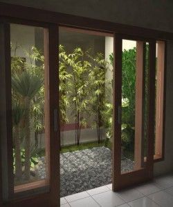 taman di dalam rumah | innercourt garden | pinterest