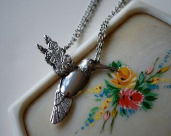 Spoon Necklace: Dragonfly by Silver Spoon Jewelry by silverspoonj