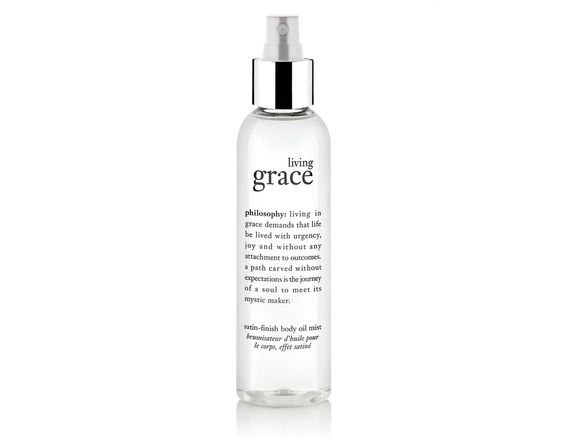 Philosophy Living Grace Body Oil – You can use elegant scented body oil day and night.