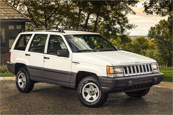 Jeep Grand Cherokee (ZJ/WJ): 1993-2004