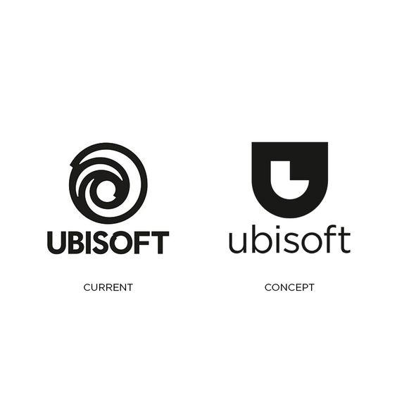 Ubisoft Logo Redesign Logo Redesign Developer Logo Logo Design