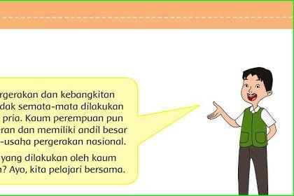 Soal Dan Jawaban Tematik Kelas 5 Tema 7 Subtema 1