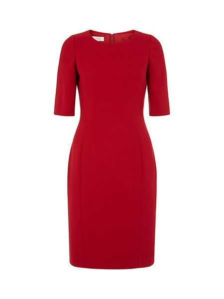 For the red Katherine Hooker worn to the EACH event Nov 25, this is the Etoile dress by Hobbs, just £111as of Nov. 27