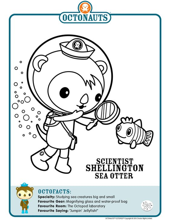 octonauts coloring pages dashi granules - photo#16