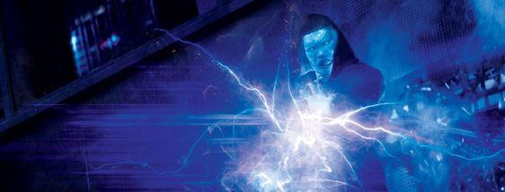 Jamie Foxx as Electro in 'The Amazing Spider-Man 2' #SpiderMan #Electro