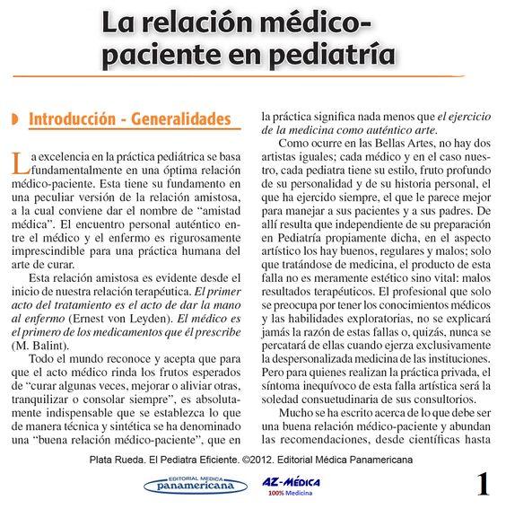 Relación Médico-Paciente en Pediatría  #Pediatria #AZMedica #Pediatra