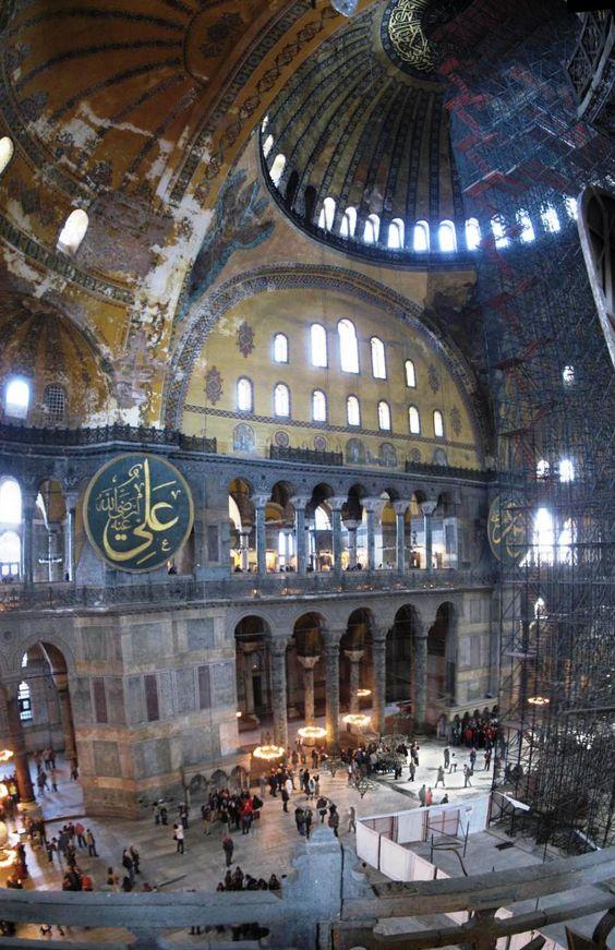 Hagia Sophia-Instanbul, Turkey