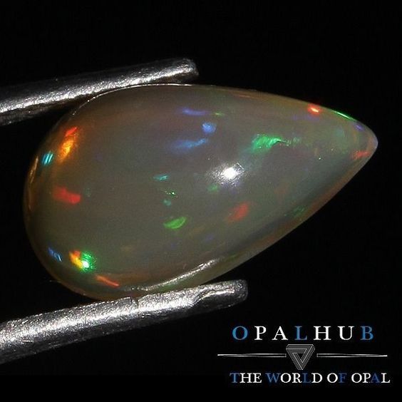 2.03 Cts 100% Natural Ethiopian Welo Fire Opal Cabochon Stone Play Color 5105