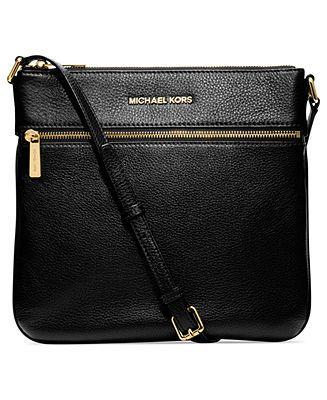 MICHAEL Michael Kors Bedford Flat Crossbody - MICHAEL Michael Kors - Handbags & Accessories - Macy's