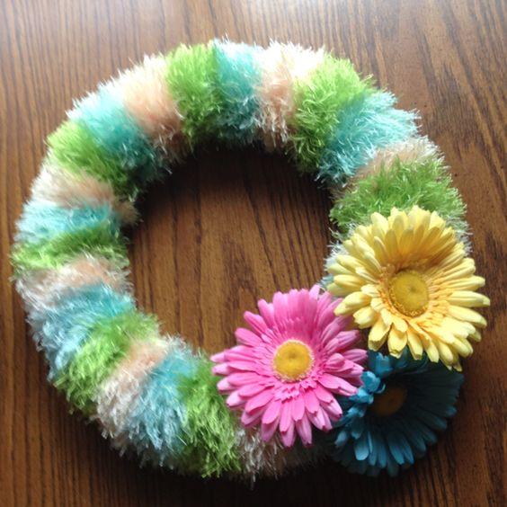Spring Wreath I made :D