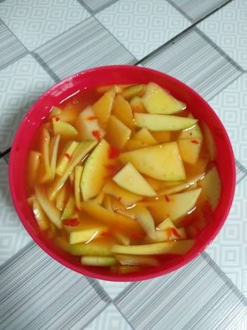 Resep Asinan Buah Mangga Oleh Diana Dnf Resep Makanan Dan Minuman Buah Mangga