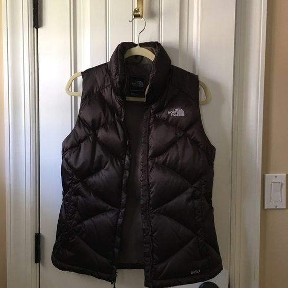 North Face Vest Size M Beautiful brown North Face vest. Size M. Not too puffy, quilted material. Rarely worn. Like new! North Face Jackets & Coats Vests