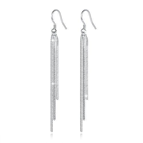 Femmes//Hommes Silver Hoop Earring Round Circle Boucle Charme Bijoux 1 Paire Cadeau