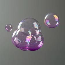 Colored bubbles!