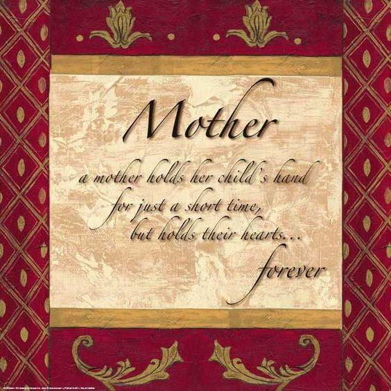Miss you mom...xo