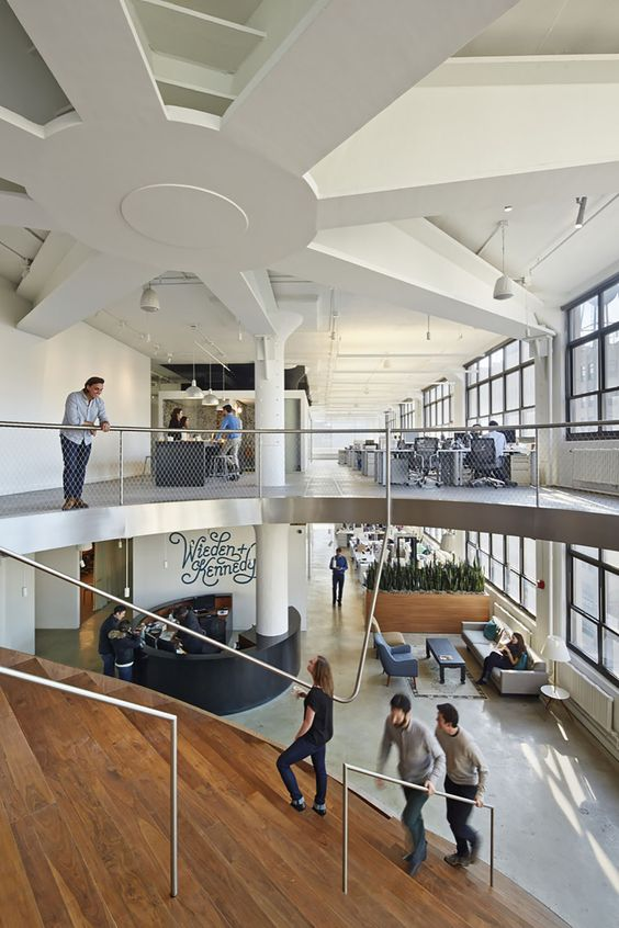 wiedenkennedy by workac 4 this new advertising agency office design in new york puts ad agency office design