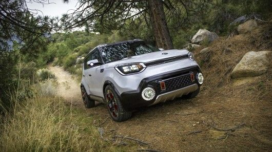 Kia is looking to pull urbanites out of city limits and into the great outdoors. The all-new Soul-based Trail'ster concept it's showing at the 2015 Chicago Auto Show is the vision of a small cross...