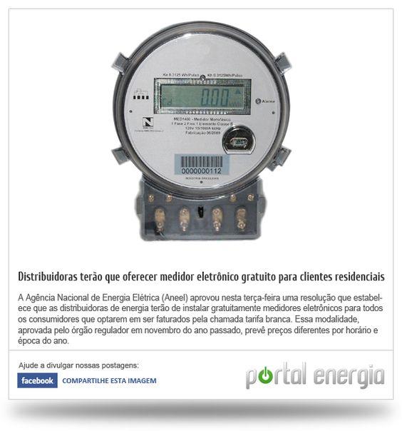 Distribuidoras terão que oferecer medidor eletrônico gratuito para clientes residenciais