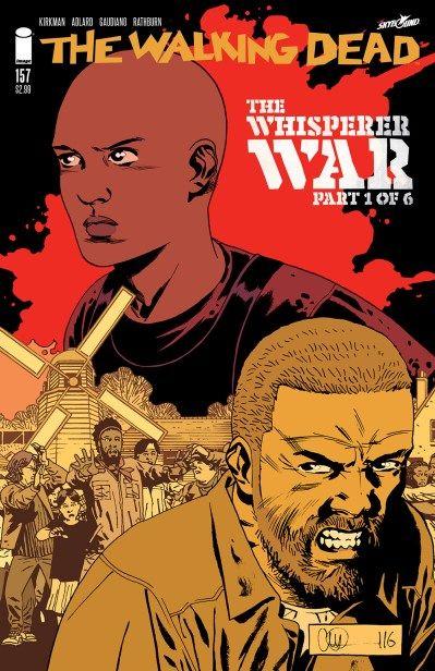 The Walking Dead #157: Capa e preview da próxima edição da HQ