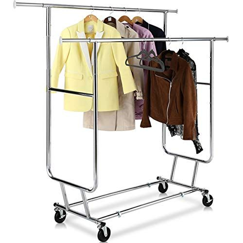 Simplehouseware Supreme Commercial Grade Clothing Garment Rack
