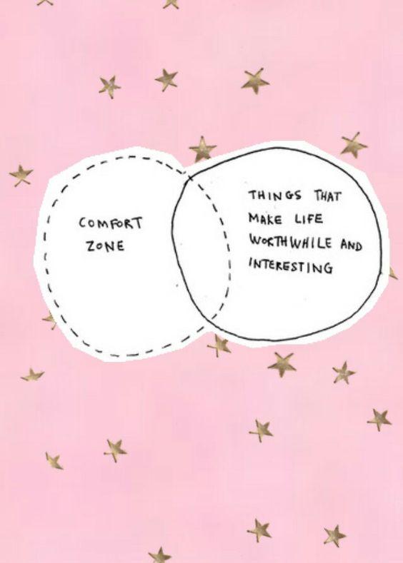 La zona de confort #confortzone