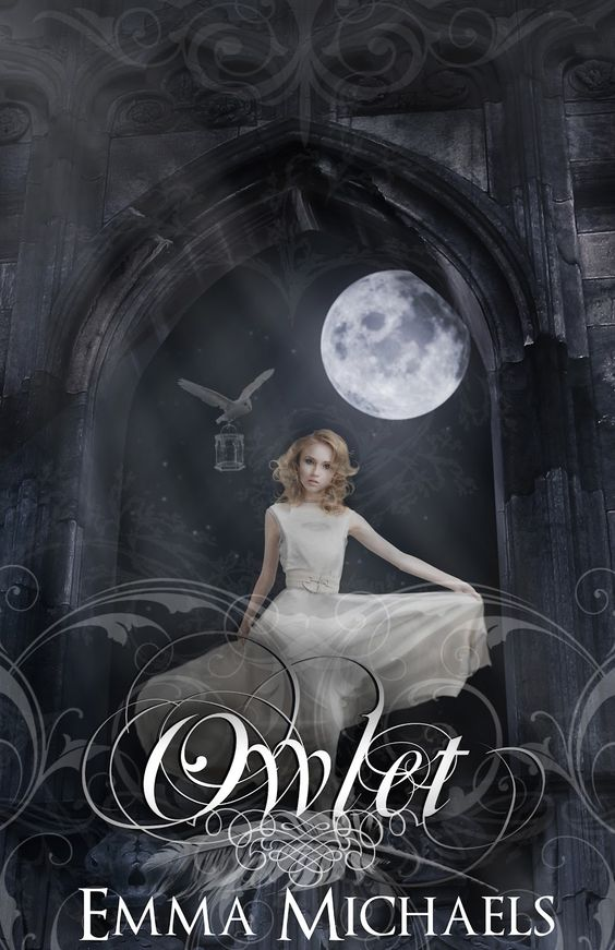 YEAY! MY BOOK!!! WOOHOO!    Cover Reveal: Owlet (Society of Feathers #1) by Emma Michaels. Coming 10/13/12