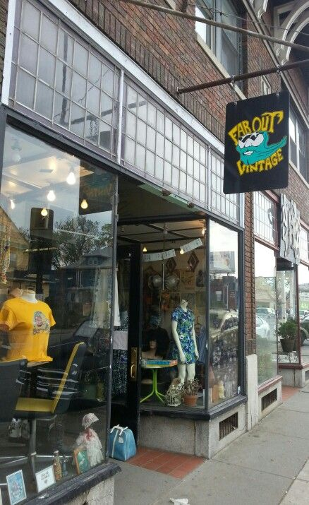 Far Out Vintage in Rochester, NY.